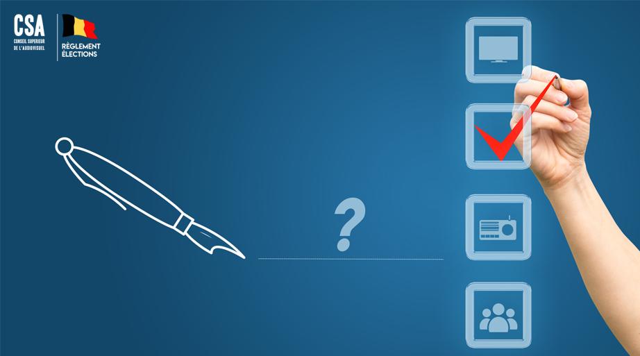 Quelles sont les grandes lignes du règlement élection?