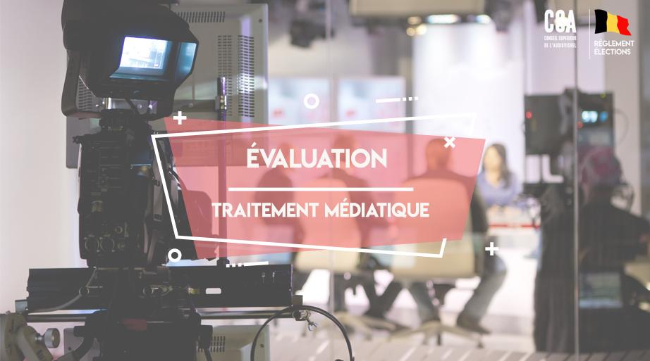 Évaluation du traitement médiatique des élections 2018 :DOSSIER